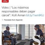 Siquiera Kofy Annan ayuda a abrir los ojos http://t.co/b2fhpZrjk7