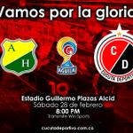 ¡Cúcuta somos todos! Dale RT si confías en la victoria rojinegra de esta noche, #VamosCúcuta! http://t.co/srznYw45WV