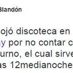 El Alcalde @BlandonJose informa que ayer se desalojó discoteca en #CalleUruguay por no contar con permiso nocturno http://t.co/IZIIfAXrO9