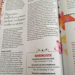 1 maart is het Nationale Complimentendag - een groot artikel in de @Libelle mét boekenlijstje http://t.co/j4O1y0dnFP