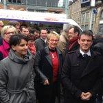 Manuel #Valls et Najat Vallaud-Belkacem ont quitté #Rennes et le marché des Lices à 10h30 http://t.co/N3EkkA84rJ