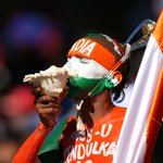 #CWC15: What a support from Indias Fan No. 1 Sudhir Gautam at the WACA. http://t.co/jXRhPbHyzS #INDvsUAE http://t.co/yf7Vm58oVP
