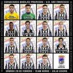 Convocados por Paco Requena para la 17ª jornada de Liga, hoy, 19:00 horas vs @UDSanFrancisco1 #SomosElFuturo #AúpaCDB http://t.co/QF6ERJZHI5