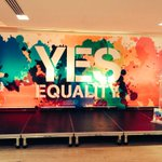 Things about to get underway at our #YesEquality volunteer day. Lets work together to do this! #MarRef http://t.co/qgC2vf7oYe