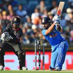 Lunch Break, India 88 for loss of 1 wicket and surely #Ind will become the first side to 6 points in Pool B #cwc15 http://t.co/zCfElcmhj9
