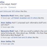 FACEBOOK WALL: Reactions to Arun Jaitleys #UnionBudget2015 http://t.co/Yzc6RHMwP0 (via @ajayendar, @ashwinskumar) http://t.co/RrylYzPimG