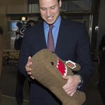 Prince William meets #NHK Studios mascot #Domo during tour. (Getty) #RoyalVisitJP #RoyalTourJP #PrinceWilliam #Japan http://t.co/Tbf6wnip4a