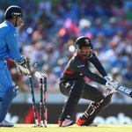"""Dhoni: """"The bowlers have really stepped up and its reflecting on other departments."""" #INDvUAE #cwc15 http://t.co/dd3X0pr2np"""