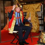 Prince William is dressed as samurai warrior in Japan @BBCWorld http://t.co/gMlvSa714y http://t.co/sDAEpvRj8r