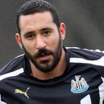 AMAZING: Jonás Gutiérrez on the bench for Newcastle today - 17 months after been diagnosed with testicular cancer. http://t.co/6oidxHLOH4