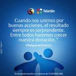 RT: @BANCODEBOGOTA Por cada RT a este tweet donaremos a @TeletonColombia $3000. #MirateColombia Unidos logramos más http://t.co/N3wcTCcrIu
