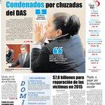 Buenos días a todos nuestros seguidores. Cúcuta amanece a 24°C. Esta es nuestra portada de hoy. #FelizSábado http://t.co/kOCB3uQFVF
