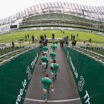 .@IrishRugby are out on their captains run ahead of their #SixNations match v ENG tomorrow. #IREvENG http://t.co/priroHCdaR