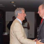 Vázquez recibió al rey vitalicio de España, Juan Carlos, este sábado de mañana. FOTOS. http://t.co/FdTDRGiY1Y http://t.co/RKWU6E21FY