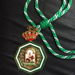 Ya esta conmigo! Medalla de Andalucía 2015!! Muchísimas gracias!!! Feliz!!!! http://t.co/v70B48BXWt