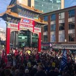 Apparently more people turned up in Newcastle for counter-March than for demo by anti-islamisation group, Pegida http://t.co/PUAhSl3FZF