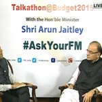 LIVE NOW: FM #ArunJaitley is answering your queries regarding Budget, tweet questions with #AskYourFM & get answers http://t.co/bPqKkQQNOP