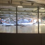Roof collapse at the Metropolis Skating Rink in Canton. Nobody injured. Facility closed until further notice. http://t.co/b1FbROKFPK