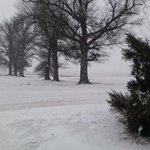 @ryanvaughan Been snowing near 45 minutes at Holcomb now. Still steady. http://t.co/Y0TvvlAUrx