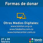 Te informamos otros medios en donde puedes hacer tu donación ¡Gracias Colombianos! #MirateColombia http://t.co/x9Gi0JS0lh