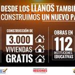 Con vivienda digna y grandes proyectos de infraestructura beneficiamos a miles de llaneros y construimos #UnNuevoPaís http://t.co/YWOX0GHtCB
