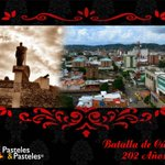 202 años triunfando como guerreros! Feliz Día de la Batalla de #Cúcuta http://t.co/rO9kIe7GQ3