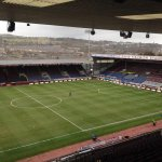 PHOTO: Heres the view from the press box ahead of todays game against @BurnleyOfficial. #BURSWA http://t.co/cZZv7GRHsI