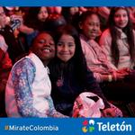 De todas las edades, desde todos los lugares de Colombia ¡La franja infantil conectada con Teletón! #Miratecolombia http://t.co/VlX27Nsc4S