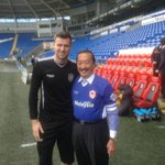 #CardiffCity owner Vincent Tan is back in town And hes wearing BLUE  http://t.co/DN7MzFoMxM http://t.co/36KFDB63HA