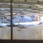 Just In: Adults, children escape after roof collapse at Canton rink (@ChiefBerkowitz photo) http://t.co/dEpPXOhzZg http://t.co/7oLNDi2H7y