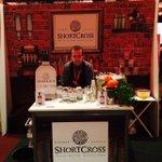 Gin you say! Ask no more, distiller dave is pouring Shortcross gin @AlltechBrews #dublin @LadyofGin http://t.co/59aMTnSVc2