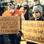 Truth and truth. Walkers budget, #righttowork #wrongforWI #wiunion #stoprtw http://t.co/MdB02Gqiy4