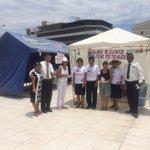 """Iglesia Santa Victoria con carpas de oración en el paseo """"Las Musas"""" ya atendió a 110 personas. #10DíasdeOración http://t.co/PqQI76jGpN"""