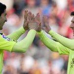 #Uruguayos   #Barcelona venció a #Granada con una gran actuación de @LuisSuarez9. VIDEO►http://t.co/UUvZ5fZ7L2◄ http://t.co/WybQurVXlD