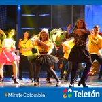 """¡Los colombianos nos movemos al ritmo de Teletón! """" #MirateColombia http://t.co/CaAFDaQyxC"""