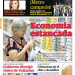 #SeLeeDistinto Economía estancada - Te dejamos nuestra portada de hoy @PanamaAmerica http://t.co/Q8T3ixHkdH