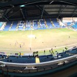 The view from the main stand at Hillsborough. http://t.co/psp1uvg3Xg