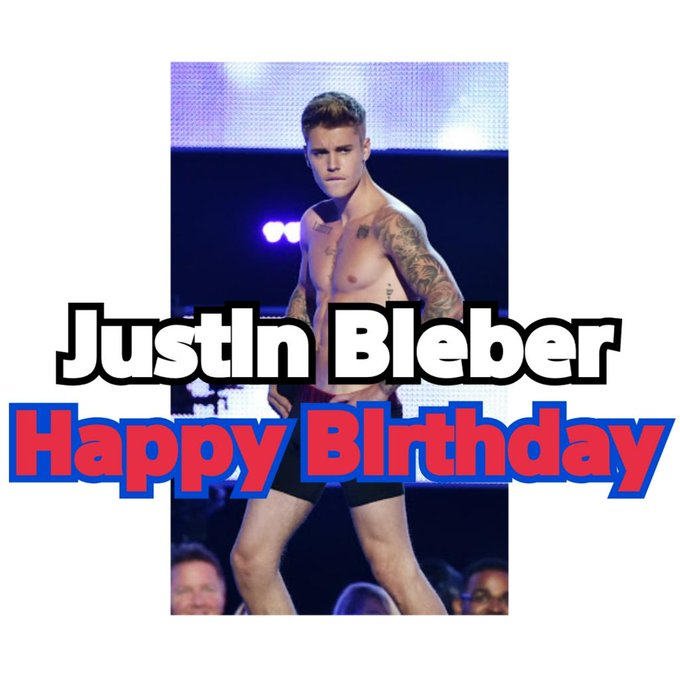3/1           Justin Bieber     Happy Birthday   Lots of love for your birthday:) Have a great year!