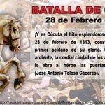 #cucuta 28Feb1813 inicia el camino de la independecia, todos unidos por #cucuta, http://t.co/26kGnhQxY1 http://t.co/4F8oN16Y0o