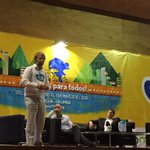 [PRENSA] Inicia intervención de Antanas Mockus en el @WorldBikeForum La bicicleta es sagrada. http://t.co/omHt6IurOF