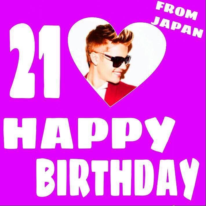 Happy Birthday              Justin Bieber