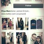 RT @PriyaManiWeb: [INFO] Hey people, follow the REAL @priyamani6 on Instagram .. http://t.co/GP3T9LQfXU