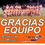 Agradecemos a Dios, Santa Librada, fanaticada santeña y orgullosamente a nuestro equipo juvenil por su gran esfuerzo. http://t.co/PdN8njyUSE