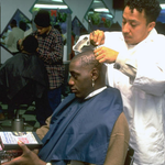 """Anthony Mason, in 1996, getting """"Point God"""" shaved into his head (H/T @SI_Vault) #RIPMase http://t.co/UVEQahiRKY"""