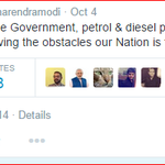 Petrol n Diesel Price hiked by Rs 3.18 n 3.09 respectively. means Modi jis Naseeb/Luck was Made in China. http://t.co/tISr5XJCq9