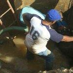 """Continúa reparación de linea de 16"""" en la salida de la PP de Chepo. vía @IDAANinforma http://t.co/xHPI7kf5T4"""