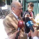 Ex presidente Sanguinetti y ex intendente Arana en embajada de España por almuerzo con Juan Carlos. @SebasGiovanelli http://t.co/YDSW9Kju3D