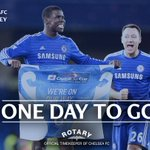 One day to go! #CFCWembley http://t.co/HHiwpdAGrc