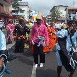 Alegría, folclor, ritmo en desfile #163VIVAC3 Fundación de la ciudad.@TReporta @tvnnoticias @nexnoticias http://t.co/4PTUPAqEY3