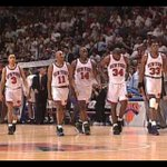 """>> RT @FisolaNYDN Now this is a starting 5. """"We were either gonna win the game or win the fight"""" RIP Anthony Mason http://t.co/3s0z36P1fX"""